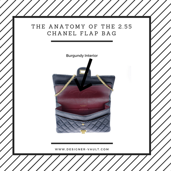 Chanel Interior 2.55 Flap Bag