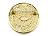 Chanel Gold Palm Tree Seal Pin - Designer Vault - 2