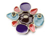 Chanel Multicolored Painted Brooch - Designer Vault - 2