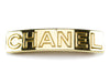Chanel Gold Logo Hair Barrett - Designer Vault