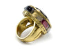 Chanel Poured Glass Cocktail Ring - Designer Vault - 3