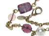 Chanel Purple Glass Necklace - Designer Vault - 5
