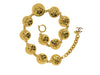 Chanel Quilted Button Necklace - Designer Vault - 3