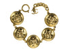 Chanel CC Quilted Button Bracelet - Designer Vault - 1
