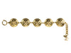 Chanel CC Quilted Button Bracelet - Designer Vault - 2