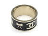 Chanel Bow Enamel Ring - Designer Vault
