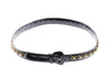 Chanel Vintage Black Patent Leather Chain Belt - Designer Vault - 2