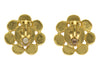 Chanel Vintage Gold Earth Stone Earrings - Designer Vault - 2
