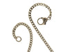 Chanel Silver Ball Ribbon Necklace - Designer Vault - 4