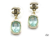 Chanel Blue Gripoix Dangle Earrings - Designer Vault