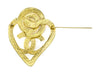 Chanel Heart Brooch - Designer Vault - 2