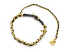 Chanel 93A Gold Leather Choker - Designer Vault