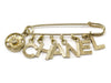 Chanel Vintage Safety Pin Brooch - Designer Vault - 1