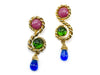 Chanel Rare Gripoix Earrings - Designer Vault - 1