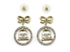 Chanel Rhinestone Bird Cage Earrings - Designer Vault - 2