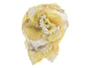 Chanel Yellow Tweed Flower Brooch - Designer Vault - 1
