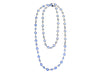Chanel Vintage Blue Sautoir Necklace - Designer Vault - 1