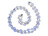 Chanel Vintage Blue Sautoir Necklace - Designer Vault - 2