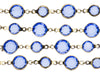Chanel Vintage Blue Sautoir Necklace - Designer Vault - 3