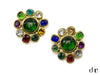 Chanel Vintage Gripoix Earrings - Designer Vault - 1