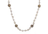 Chanel Ivory Pearl Gold Ball Vintage Necklace - Designer Vault - 1