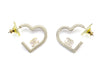 Chanel Pink Heart Earrings - Designer Vault - 2