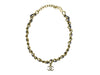 Chanel Vintage Leather & Gold Necklace - Designer Vault - 2