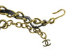 Chanel Vintage Leather & Gold Necklace - Designer Vault - 4