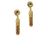 Chanel Vintage Thermometer Earrings - Designer Vault - 1