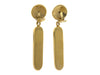 Chanel Vintage Thermometer Earrings - Designer Vault - 2