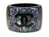 Chanel Resin Oil Slick Cuff - Designer Vault - 1