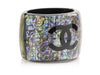 Chanel Resin Oil Slick Cuff - Designer Vault - 2