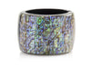 Chanel Resin Oil Slick Cuff - Designer Vault - 3