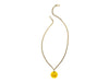 Chanel Lucite Floral Necklace - Designer Vault - 2