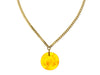 Chanel Lucite Floral Necklace - Designer Vault - 1