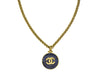 Chanel Vintage Gold Marble Necklace - Designer Vault - 1