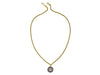 Chanel Vintage Gold Marble Necklace - Designer Vault - 2