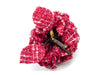 Chanel Red Fabric Brooch - Designer Vault - 2