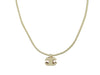 Chanel 04P Canvas Cord Necklace - Designer Vault