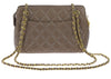 Chanel Brown Caviar Chain Handle Tote Bag - Designer Vault