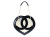 Chanel Terry Cloth Heart Bag - Designer Vault - 3