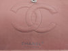 Chanel Pink Ostrich Medium Double Flap Bag - Designer Vault - 9