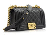 Chanel Small Lambskin Boy Bag - Designer Vault - 2