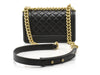 Chanel Small Lambskin Boy Bag - Designer Vault - 3