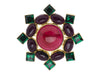 Chanel Vintage Glass Brooch - Designer Vault - 1