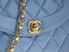 Chanel Vintage Blue Camera Bag - Designer Vault - 3