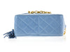 Chanel Vintage Blue Camera Bag - Designer Vault - 5