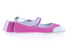 Chanel Pink Mary Jane Perforated Ballet Flats Size 41 - Designer Vault - 4