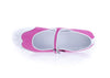 Chanel Pink Mary Jane Perforated Ballet Flats Size 41 - Designer Vault - 5
