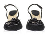 Chanel Black Espadrille Wedges - Designer Vault